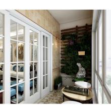 Venta caliente de alta calidad simple personalización puerta ventana inserciones de plástico