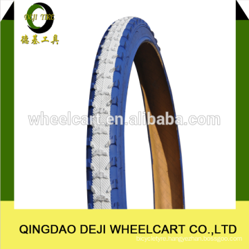 China high quality natural rubber bicycle tire 18*1.75