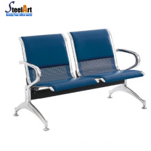 High Quality 4 Seater Airport Office Public Area Steel Waiting Chair