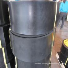 Lámina de goma de 40 cm de ancho con cinta