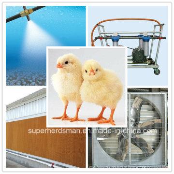Refrigerador de ar de avicultura equipamentos para galpão de frango