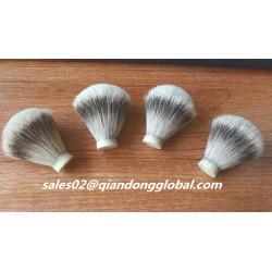 Soft Backbone 18mm Silvertip Badger Hair Knot