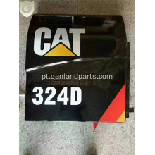 Portas do compartimento do motor CAT Caterpillar 324D