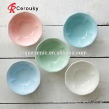 Bacia cerâmica impressa feita sob encomenda