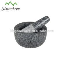 Varios tamaños granito / mármol mortero y maja venta