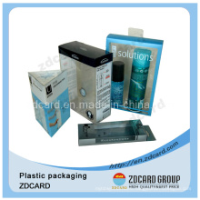 Hot Selling Soft Crease PVC Plastic Packaging Folding Box