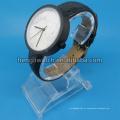 Relógio de quartzo de aço inoxidável de moda de discagem de mármore novo estilo Hl-Bg-046