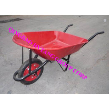wheelbarrow WB7400 with red powder painted tray