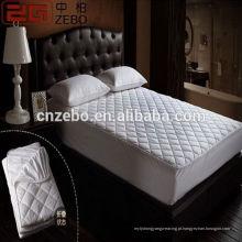 Últimas New Product Hotel respirável Colchão Cover / Mattress Pad Cover / Medical Colchão Capa
