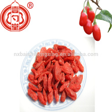 Chinese dried fruits oem manufacturer supply usda organic goji berry with TC freely