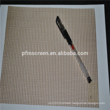 ptfe/teflon coated mesh conveyor belt for UV Tunnel Drying And Fusing Machine