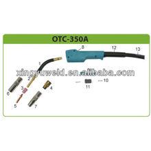 otc 350a gas welding torch/ otc welding accessories