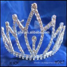 Mini tiara princesa cumpleaños partido tiara corona estrella corona tiaras corona