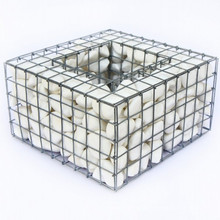 Factory Price Galvanized or PVC Retaining Gabion Wall, Welded Stone Gabion Box welded mesh gabion cage for sale