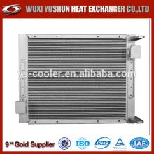 Échangeur de chaleur pour camion à ailettes en aluminium pour pompe à béton