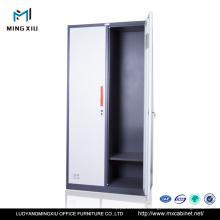 Luoyang Mingxiu Steel Office Furniture 2 Swing Door Clothes Locker