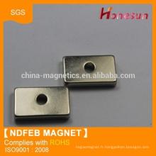neodymium magnet N38 hole shift magnet