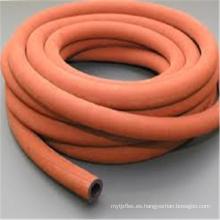 Tubo de vapor reforzado con alambre de alta temperatura flexible de 6 pulgadas