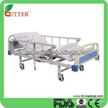 Hôpital Deux fonctions Lit médical électrique avec télécommande