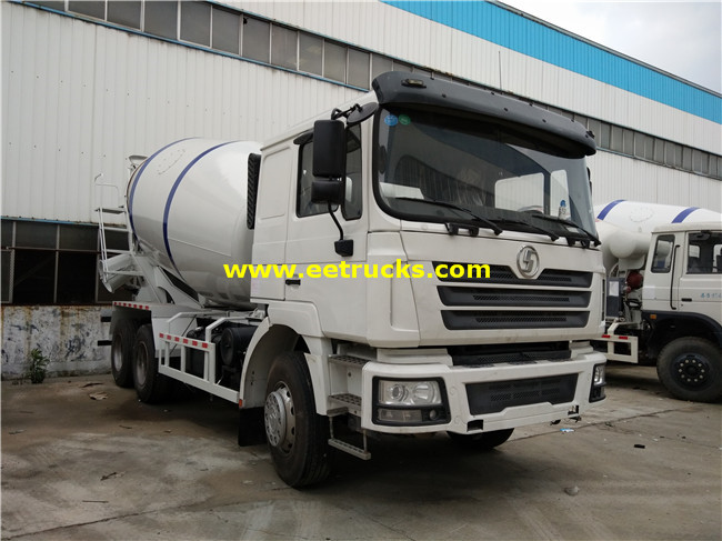 SHACMAN 10 Wheel Cement Truck Mixers