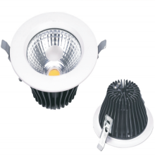 Puce 2400lm COB Downlight encastré LED 30W