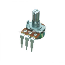 WH148-1A-4-N mono single b 500k rotary digital potentiometer with 3 bent pins