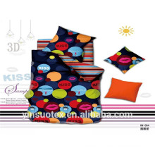 factory design kids full size polyester plain bedding 100% cotton bed fitted sheet
