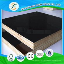 Construcción Cemento 1200x2400 mm Negro Contrachapado