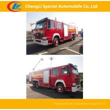 Sinotruk 6 * 4 371HP Feuerwehrfahrzeuge