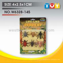 Softpin de borrachas macias e formigas sortidas playtoy para criança