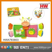 2015 New Design Cartoon Colorful Animal Plush Toy Importer