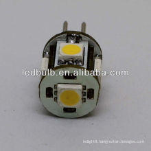 5 SMD G4 caravan led marine 12V led lights