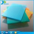 Cheap honeycomb hollow for roof china Manufacturer multiwall colorful ge price 100% lexan 20mm polycarbonate sheet