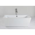 Bañera cuadrada de acrílico para uso en interiores