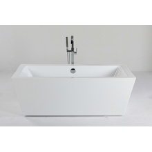 Indoor Freestanding Bathtub in Acrylic