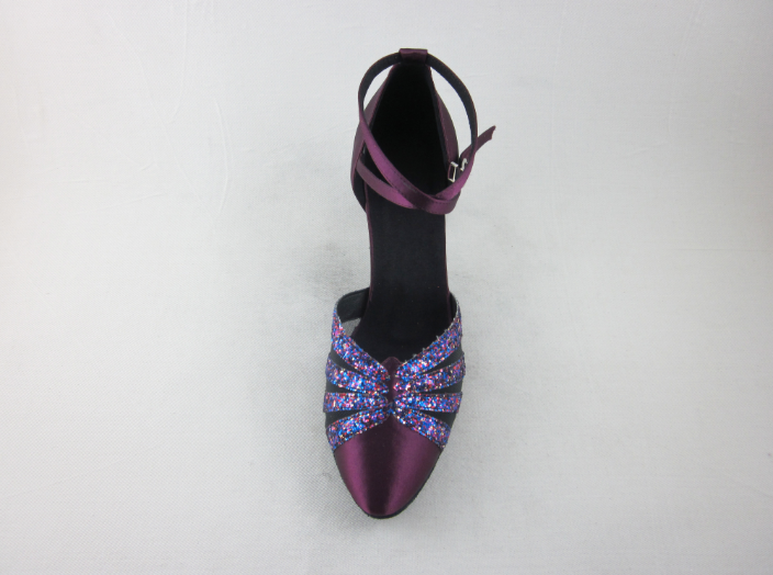 Ladies Dance Shoes Purple