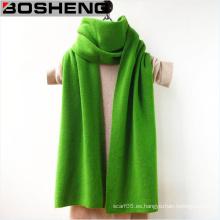 Abrigo de la borla de las lanas del color sólido de las mujeres robó la bufanda de lana del mantón