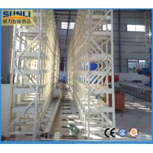 Sistema de estantería de alta densidad como / RS Warehouse