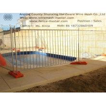 Временный забор плавательного бассейна «Конапный Шунсин» (заводская)