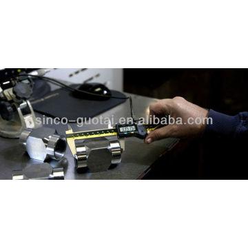 ASME B16.11 zócalo de acero inoxidable de soldadura / accesorios forjados / accesorios de alta presión / Cruz