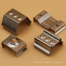 Experienced factory sheet metal fabrication stamping custom tube spring clips