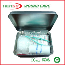 Caja de primeros auxilios metal fuerte de HENSO