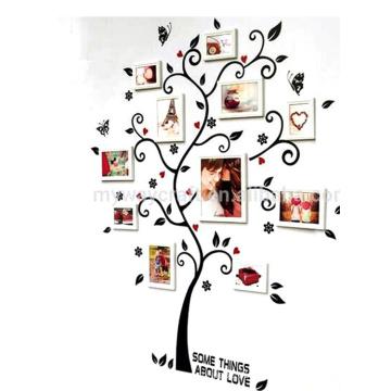 Calidad asegurada Barato Nuevos regalos Decoración de la pared Mayorista Vinilo decorativo Etiqueta de la pared del árbol calcomanías