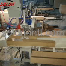 wooden pad shaping machine