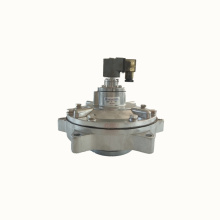 Magnetic pressure control valve for air compressor