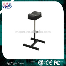 Professional Best Tattoo Furniture Stable Stainless Steel Stand Soft Tattoo Arm Rest/Leg Rest