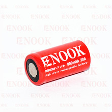 Enook 18350 3.7 v batteria superiore