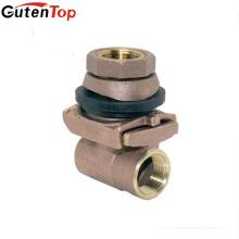 """LB Guten top 1 """"Sin plomo DZR CW602n Adaptador sin orificio de latón Válvula de latón profundo"""