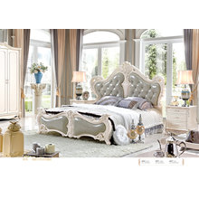 Wholesale Container Price of French Style Classic Bedroom Sets (6022)