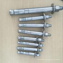 Boulon d'ancrage mécanique pour galerie de tuyaux galvanisés